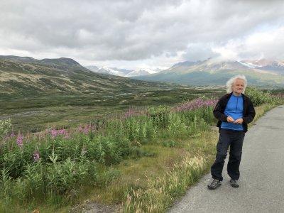 Heiner Zimmer in Alaska