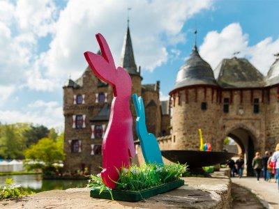 Ostermarkt auf Burg Satzvey am 12. und 13. April