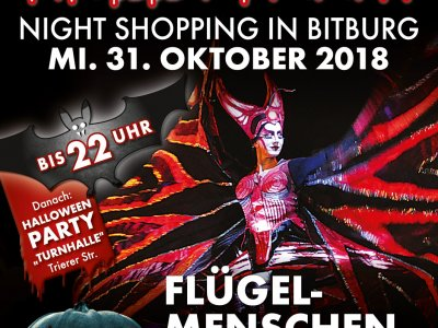 Die Flügel-Menschen kommen nach Bitburg!