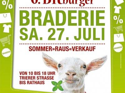 """Straßenkünstler für die """"Braderie"""" und andere Veranstaltungen gesucht!"""