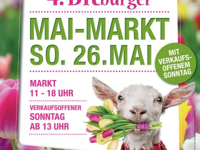 """4. Bitburger Mai-Markt"" mit verkaufsoffenem Sonntag am 26.05."