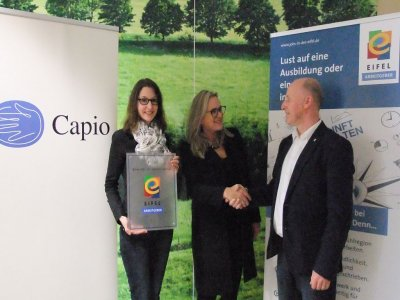 Capio Mosel-Eifel-Klinik ist nun ein weiterer zertifizierter EIFEL Arbeitgeber