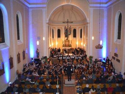 Benefiz-Gala der Kreismusikschule Bitburg-Prüm am 8.12.19 in Oberkail