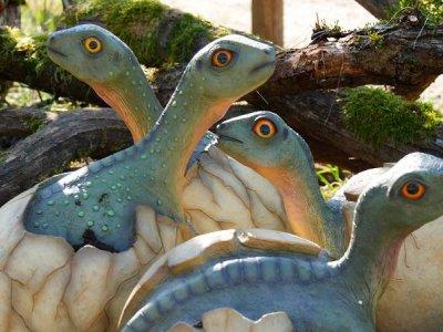 Am 13. April startet der Dinosaurierpark Teufelsschlucht wieder in eine neue Saison.