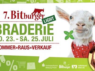 JETZT VORMERKEN - Die 7. Bitburger Braderie findet statt!
