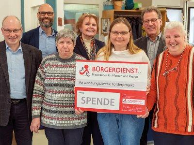 Der BÜRGERDIENST e.V. unterstützt zwei Projekte der Westeifel Werke