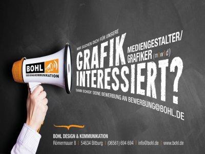 Mediengestalter Digital & Print / Grafiker  (m/w/d) gesucht!