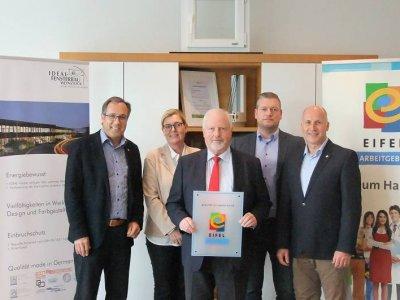 Erster EIFEL Arbeitgeber im Landkreis Bernkastel-Wittlich