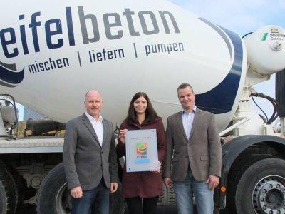 Eifelbeton ist neues Mitglied im Netzwerk EIFEL Arbeitgeber