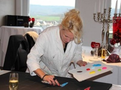"""Ausstellung """" Neues in Acryl"""" vom 26.04.18-26.07.18"""