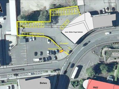 Neue Parkplätze im Bitburger Stadtzentrum